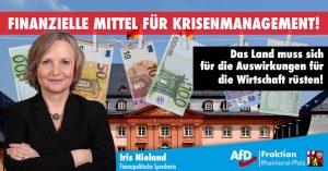Landesregierung muss dringend finanzielle Mittel für Krisenmanagement bereitstellen – Rheinland-Pfalz muss für Folgen des Coronavirus gewappnet sein