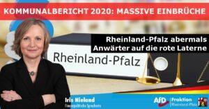 Iris Nieland (AfD) zum Kommunalbericht 2020: Die bekannten Langzeitprobleme bedürfen struktureller Verbesserungen