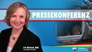 Pressekonferenz mit Iris Nieland (MdL) zur Haushaltsberatung